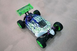 Free Shipping HSP 94106 1/10th 2WD Scale RTR off-road Nitro Gas Powered Touring RC Buggy 2.4G transmitter(China (Mainland))