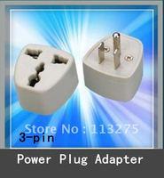 10pcs New UK AU US EU to US - 3 to 3 Prong Travel Adapter Converter Outlet Plug - USA