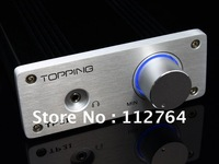 Topping TP21 TA2021 2*25W Class T Amp Headphone Amplifier + Power Adapter High-quality Professional Car AMP  Freeshipping