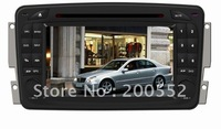 "6.2"" in dash car DVD GPS navigation for Mercedes Benz Old C-class with Digital TV DVB-T BT RDS PIP IPOD SWC CANBUS 3G USB Host"
