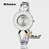 1pc Kimio Big Crystal watch 2012 ,Charm Jewelry Bracelet Bangle watch for women ,FREE SHIPPING
