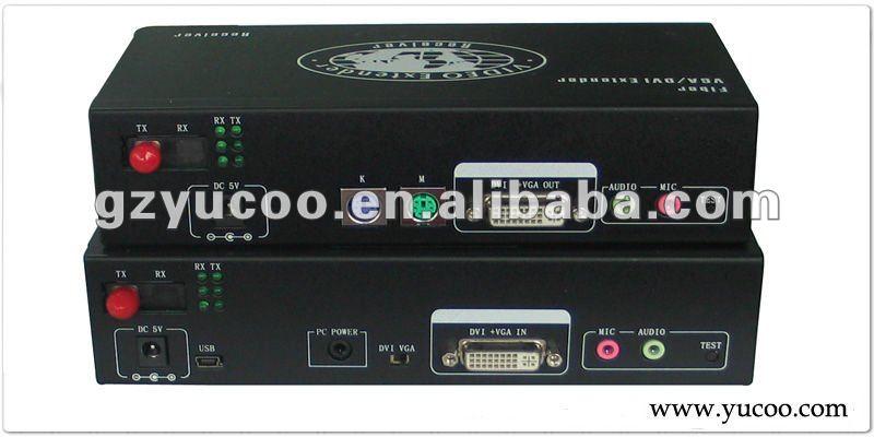 (YUCOO-VGA11VA) VGA Fiber Optical Converter(China (Mainland))