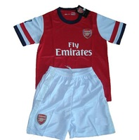Arsenal Youth Home 2012/2013 season jersey and shorts kit,soccer Uniforms,sports jerseys have embroidered logo
