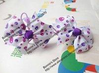 """2"""" bows hair band kid's hair accessories hair ties 56 design kids bobbles"""