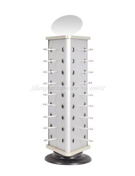 Ty107 Aluminum & Plastic Board Reading Glasses Display Stand Rack , Shelf, Eyewear Cabinet