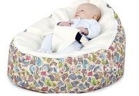FREE SHIPPING BIRDS design baby beanbag, Bird pattern DOOMOO baby bean bag toddler chair
