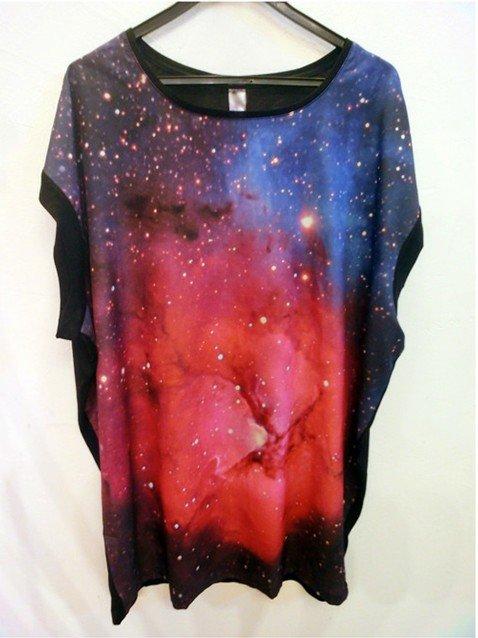 Блузки С Космическим Принтом