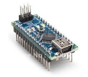 Funduino Nano v3  Atmel ATmega328 Mini-USB Board with USB Cable Free Shipping Dropshipping