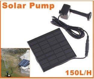 free shipping Hot Sell ! Pool Water Pump Garden Plants Watering Kit Solar Power Fountain Soar Pump/Water Pump