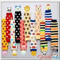 Baby supplies lovely ankle sock kneepad set baby socks set spring and autumn w014