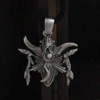 World Warcraft Goth Night Elves Necklace