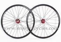 "ENJOY carbon 26"" mtb clincher wheel, 20/24h or 32/32h, Model PA-M26C-CP, free shipping~!!"