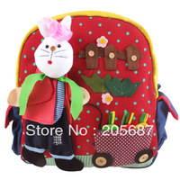 China post air mail Free shipping 1 pcs/lot,The 2012 wholesale baby children&#39;s double shoulder packbag with cartoon characters