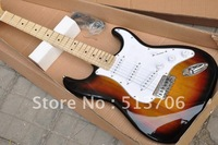 Free Shipping Newest Stratocaster TS Burst Electric Guitar Maple Fingerboard Wholesale