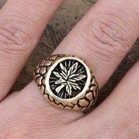 vintage maple signet ring many sizes