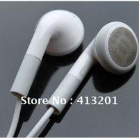 Cheap White Small stylish headphones headset for Ipad ipad2 Free shipping