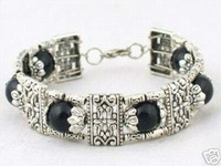 Fancy Jewellery Tibet black Jade Bracelet