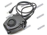 PELTOR Tactical PTT  Standard Plug(PEL-BK)