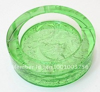 2012 newest fashion popular crystal ashtray for business gift and birtyday or wedding gift
