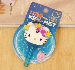Cute Gift Hello Kitty Libra Design Key Cap Cover Chain(China (Mainland))