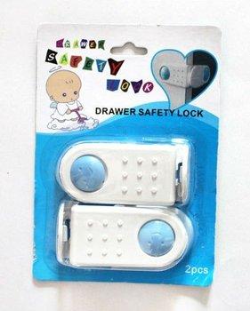 Wholesale Child Infant Safety Products Baby Care Drawer Cabinet Safety Lock Door Locks Furniture Lock 10Sset(2pcs/set)