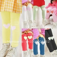 Special offer peach heart patch | 2012 summer wear pants render han edition thin new baby is natural children children's clothes