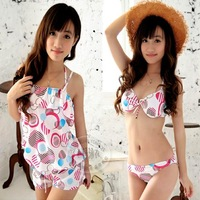 2012 Padded underwire bikini bikini women's dress swimwear hot spring swimsuits for women