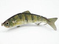 Fishing Lure 4 Segment Swimbait Crankbait Hard Bait Fresh Water Shallow Water Bass Walleye Crappie HS4 Fishing Tackle HS4X310