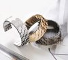 Min order is 20 $(Mixed order)Trendy Personality scales wide bracelet  Free shipping Fashionable European style
