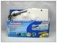 Mini Handheld Portable Clothes Fabrics Sewing Machine+Free shipping