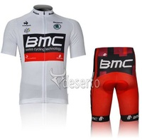 2012 New! BMC Short Sleeve Cycling Jersey + Shorts