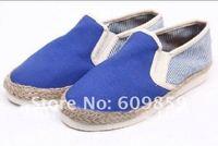 Free transport female shoes canvas shoes a daily leisure shallow mouth single shoes fashion Flats shoes(20 pcs/lot)
