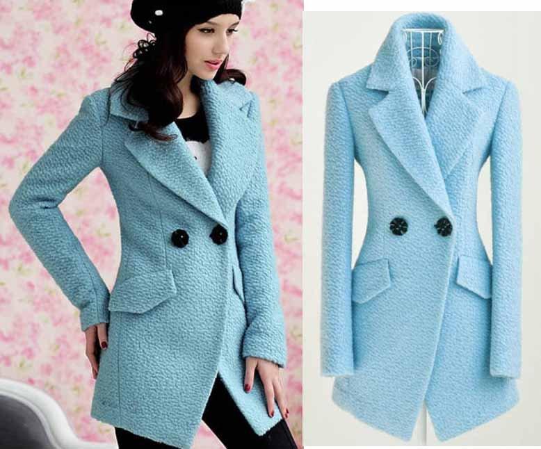 Blue Coats For Women