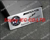 G117 Color AMG Aluminum  Alloy Car Nameplate Badge Emblem Badges Emblems Sticker High Quality