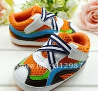 Пинетки 2012 fashion youthful white color block sports sneaker shoe style BB shoes/prewalkers