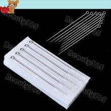 50pcs/Set Mixed Assorted Sterilize Tattoo Needles Round Liner 1RL 3RL 5RL 7RL 9RL 922(China (Mainland))