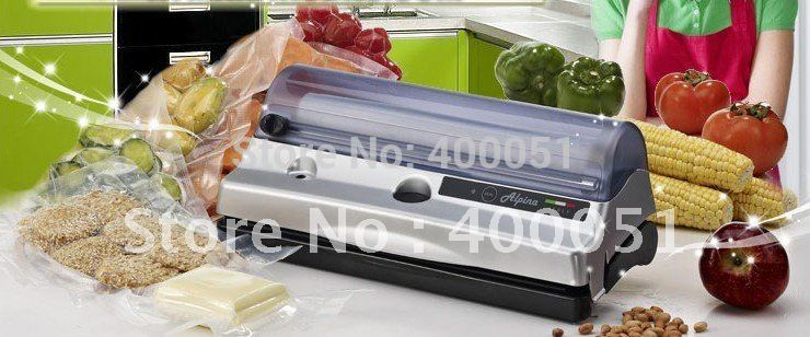 New Household Vacuum Sealer,fruit packing machine (Vacuum value:(60cm/Hg) - 0,8 bar)(China (Mainland))