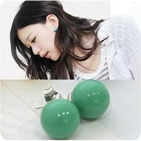 European and American fashion candy pearl earrings accessories