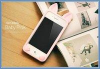 США $3.83/pc Аль 3d тиснением полые жесткий Роза чехол для iphone 4 4s + подарок экран протектор