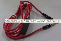 For Monster Universal 3.5mm Jack Audio Cable With Mic