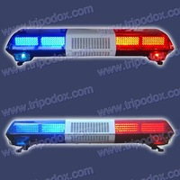 Police lightbar use super LEDs, Amber LED Lightbar, Support the wholesale