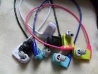 New arrival 4GB sports earphone w262 Mp3 player waterproof headphone
