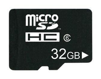 FREE shipping Class 6 32GB MicroSD Micro SD Transflash TF Card with 32GB real capacity + Adapter