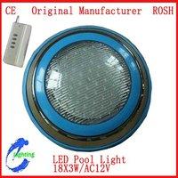 Surface-Mounted 54W LED Swimming Pool Light LED underwarter light