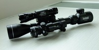 CleanPower Brand,3-9X40 E rifle gun airsoft hunting Scope scopes w/ Red Laser 501B Flash Torch Free Shipping