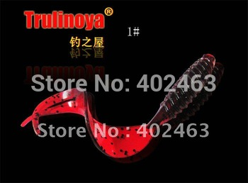 High quality  Lure soft bait  soft fishing lures fishing bait  7.5 cm  3.2g  A pack of  6pcs *5 pack = 30pcs