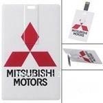 MITSUBISHI MOTORS Business Card Style 4GB/8GB/16GB/32GB Memory USB 2.0 Flash Drive U Disk----UC002