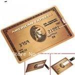 NEW 4GB/8GB/16GB/32GB Credit Card USB Flash Drive 2.0 Memory Stick----UC001