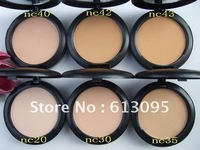 free shipping Makeup studio fix Powder plus foundation  powder puffs 15g(2pcs/lot)+free gift!
