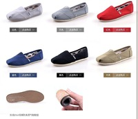 free shipping Men and women casual canvas shoes, EVA flat zebra pattern stripes lovers shoe shoes